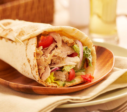 Chicken Gyro Wrap